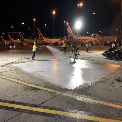 Sierra – Uniform Taxiway Intersection Slab Replacements