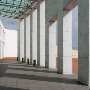 Parliament House in Canberra (Australia)